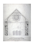 Winchester Palace, Southwark, London, C1814 Giclee Print by George Hawkins