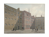 View of the Quadrangle at Bridewell, City of London, 1810 Giclee Print by George Shepherd