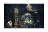 The Underworld, C1613-C1644 Giclee Print by Francois de Nome