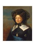 Empress Maria Feodorovna of Russia, 1820S Giclee Print by George Dawe