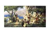 Sword Dance, 1881 Impression giclée par Henryk Siemiradzki