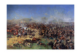 The Battle of Borodino on August 26, 1812. Third French Attack, 1913 Giclee Print by Franz Roubaud