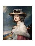 Mrs Davies Davenport, 1782-1784 Giclee Print by George Romney