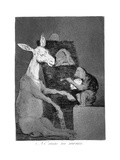 Neither More or Less, 1799 Giclee Print by Francisco de Goya