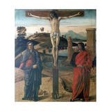 The Crucifixion, 1465 Giclee Print by Giovanni Bellini