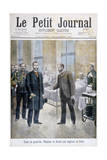 Grand Duke Vladimir of Russia Visiting a Paris Hospital, 1897 Giclee Print by Henri Meyer