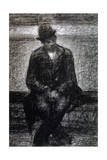 Vagabond, C1880-1891 Giclee Print by Georges Seurat