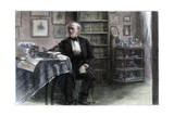 The Late Hans Christian Andersen in His Study, C1850-1875 Giclee Print by Hans Christian Andersen