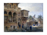 The House of Mameluke Radnau Bey, Cairo, 1870 Giclee Print by Frank Dillon