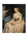 Charlotte, Lady Milnes 18th Century Giclee Print by George Romney