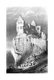 The Chateau De Crussol, Saint-Peray, France, 19th Century Giclee Print by Godard Q des Augustins