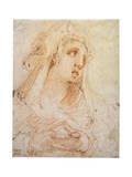 A Young Woman' (Mary Magdalene), Late 16th or Early 17th Century Giclee Print by Hendrik Goltzius