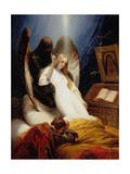 The Angel of Death, 1851 Giclée-Druck von Horace Vernet