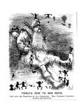Tribute Dew to Ben Nevis, 1883 Giclee Print by Harry Furniss