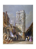 St Bartholomew-By-The-Exchange, City of London, 1842 Giclee Print by George Sidney Shepherd
