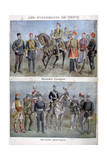 Uniforms of the Greek and Turkish Armies, 1897 Giclee Print by Henri Meyer