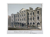 Giltspur Street Compter, City of London, 1812 Giclee Print by George Shepherd