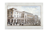 The King's Theatre, Haymarket, Westminster, London, 1828 Giclee Print by George Shepherd