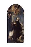 Ecstasy of Saint Francis of Paula, 18th Century Giclee Print by Giovanni Battista Tiepolo