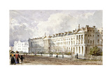 View of Hanover Terrace in Regent's Park, London, 1827 Giclee Print by George Shepherd