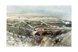 Vauquois, 29th August 1915 Giclee Print by Francois Flameng