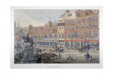 Charing Cross, Westminster, London, 1807 Giclee Print by George Shepherd