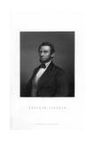 Abraham Lincoln, 16th President of the United States Giclee Print by HC Balding