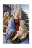 The Virgin and Child with Two Angels, 1472-1475 Giclee Print by Filippino Lippi