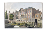 Fishmongers' Hall from the River Thames, London, C1810 Giclee Print by George Shepherd