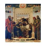 'Pala Di Pesaro' Altarpiece, C1474 Giclee Print by Giovanni Bellini
