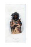 Ak-Quee-We-Zaints, the Boy, 1848 Giclee Print by  Harris