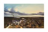 The Battle of Montmirail, 11 February, 1814 Giclée-Druck von Horace Vernet