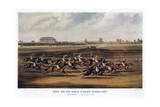 Race for the Great St Leger Stakes, 1836 Giclee Print by  Harris