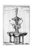 Fountain Design, 1664 Giclee Print by Georg Andreas Bockler