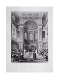 Great Synagogue, Dukes Place, London, C1850 Giclee Print by Harlen Melville