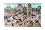 St Bartholomew's Day Massacre, C1810-1870 Giclee Print by Francois Dubois