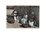 Fruit Sellers, Rio De Janeiro, Brazil, 19th Century Giclee Print by  Gillot