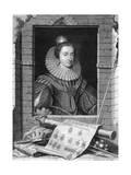 Elizabeth of Bohemia, C1700-1750 Giclee Print by George Vertue