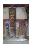 The House of Moufti Sheikh El Mahadi, Cairo, 1873 Giclee Print by Frank Dillon