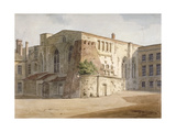 Exterior View of the Painted Chamber, Palace of Westminster, London, C1805 Giclee Print by Frederick Nash