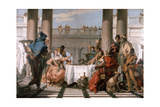 The Banquet of Cleopatra, 1743-1744 Giclee Print by Giovanni Battista Tiepolo