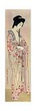 A Japanese Woman Wearing a Nagajuban, 1920 Giclée-tryk af Hashiguchi Goyo