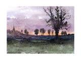 Landscape, 1881 Giclee Print by Henri-Joseph Harpignies