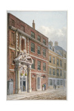 Merchant Taylors' Hall, Threadneedle Street, City of London, 1810 Giclee Print by George Shepherd