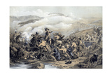 The Battle of Drumclog, 1679 Giclee Print by George Harvey