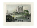 Rochester Castle, Kent, Mid 19th Century Giclee Print by Henry Adlard