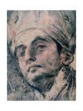 Portrait Study, C1676-1727 Giclee Print by Giovanni Antonio Pellegrini