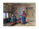 Apartment in the House of the Sheikh Sadat, Cairo, 1873 Giclee Print by Frank Dillon
