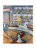 Le Cirque' ('The Circus), 1891 Giclee Print by Georges Seurat