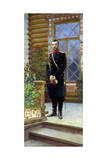 Tsar Nicholas II of Russia, 1896 Giclee Print by Il'ya Repin